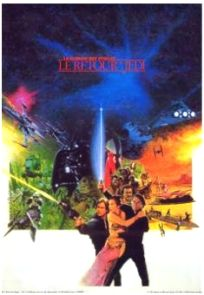 French Return of the Jedi Promotional One-Sheet #1