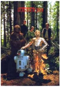 French Return of the Jedi Promotional One-Sheet #2