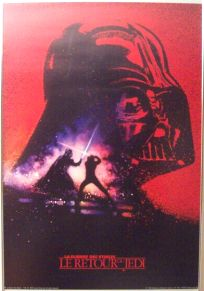 French Return of the Jedi Promotional One-Sheet #4