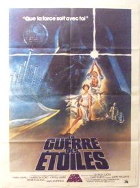 """French Star Wars Style """"A"""" Petite-Affiche"""