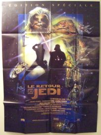 """French Return of the Jedi Special Edition Version """"D"""" Grande-Affiche"""