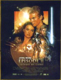 "French Attack of the Clones Version ""B"" Mini-Affiche"