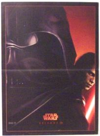 "French Revenge of the Sith Version ""A"" Advance Mini-Affiche"