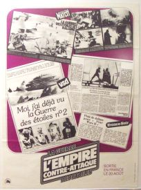 French Empire Strikes Back Advance Promo Petite-Affiche