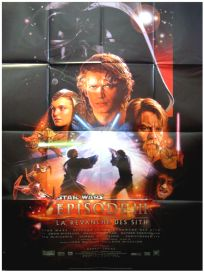 "French Revenge of the Sith Version ""B"" Grande-Affiche"