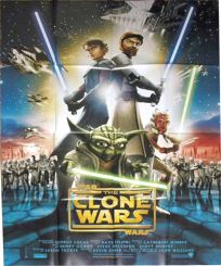 "French The Clone Wars Version ""A"" Grande-Affiche"