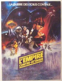 "French Empire Strikes Back Style ""A"" Mini-Affiche"