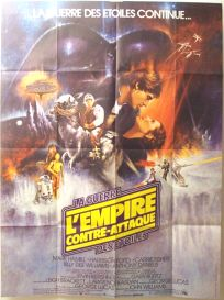 """French Empire Strikes Back Style """"A"""" Grande-Affiche"""