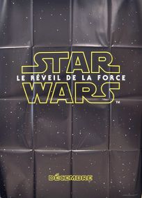 "French The Force Awakens Version ""A"" Advance Grande-Affiche"