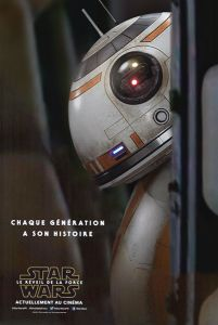 "French The Force Awakens Version ""Characters"" BB-8 Grande-Affiche"