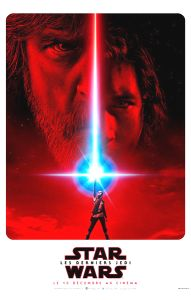 "French The Last Jedi Version ""A"" Advance 2nd Version Grande-Affiche"