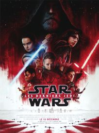 "French The Last Jedi Version ""B"" Mini-Affiche"