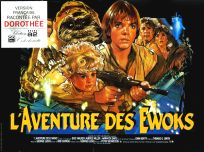 "French Ewok Adventure Style ""B"" Caravan of Courage Mini-Affiche"