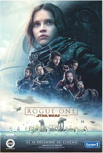 "French Rogue One Version ""Characters"" Rebel Cast Grande-Affiche"