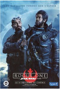 """French Rogue One Version """"Characters"""" Saw / Bodhi Grande-Affiche"""