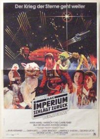 "German Empire Strikes Back Style ""A"" Foreign Insert / A3 size"