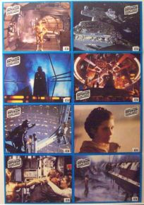"German Empire Strikes Back Style ""Lobby Cards"" Uncut #1 One-Sheet / A1 Size"