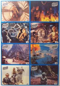 "German Empire Strikes Back Style ""Lobby Cards"" Uncut #2 One-Sheet / A1 Size"