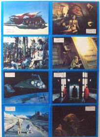 "German Return of the Jedi Style ""Lobby Cards"" Uncut #1 One-Sheet / A1 Size"