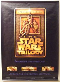 """German Star Wars Special Edition Version """"A"""" Advance One-Sheet / A0 Size"""