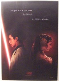 "German Attack of the Clones Version ""A"" Advance One-Sheet / A1 Size"