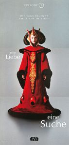 "German The Phantom Menace Version ""One Series"" Amidala Banner"