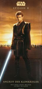 "German Attack of the Clones Version ""Good Guys"" Anakin Banner"