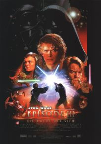 """German Revenge of the Sith Version """"B"""" One-Sheet / A1 Size"""