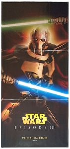 """German Revenge of the Sith Version """"Characters"""" Grievous Banner"""