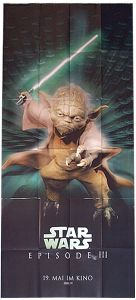 "German Revenge of the Sith Version ""Characters"" Yoda Banner"