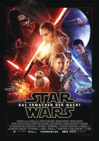 """German The Force Awakens Version """"B"""" One-Sheet / A1 Size"""