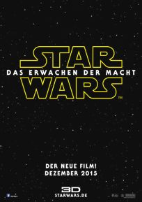 "German The Force Awakens Version ""A"" Advance One-Sheet / A1 Size"