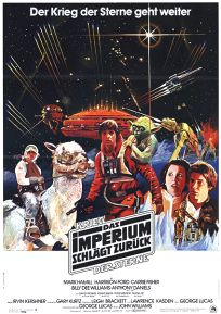 "German Empire Strikes Back Style ""A"" Foreign One-Sheet / A1 size"