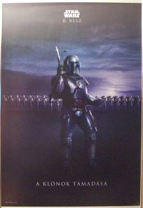 """Hungarian Attack of the Clones Version """"Bad Guys"""" One-Sheet"""