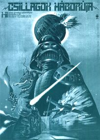 """Hungarian Star Wars Style """"A"""" Foreign Green Monotone One-Sheet / A2 Size"""