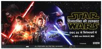 "Indian The Force Awakens Version ""B"" Hindi Six-Sheet"