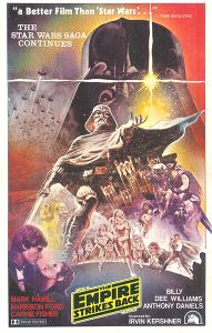 """Indonesian Empire Strikes Back Style """"B"""" Flyer One-Sheet / A4 Size"""
