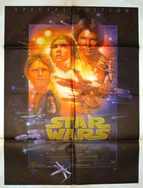 "Indian Star Wars Special Edition Version ""B"" English One-Sheet"