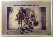 "Italian Empire Strikes Back Style ""Fotobusta"" Lobby Card Poster - Photobusta #3"