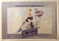 "Italian Empire Strikes Back Style ""Fotobusta"" Lobby Card Poster - Photobusta #4"