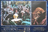 "Italian Return of the Jedi Style ""Fotobusta"" Lobby Card Poster - Photobusta #6"
