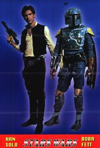 "Italian Star Wars Commercial ""Han / Boba"" One-Sheet"