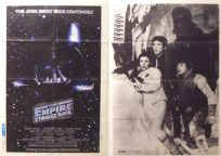 Japanese Empire Strikes Back Advance Screen One-Sheet / B2 size