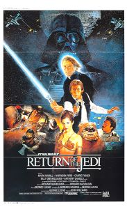 "Japanese Return of the Jedi Style ""B"" Roadshow Poster"