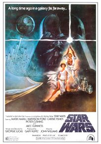 "Japanese Star Wars Style ""A"" '82 Re-release One-Sheet / B2 size"