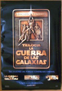 "Mexican Star Wars Special Edition Version ""A"" Advance One-Sheet"
