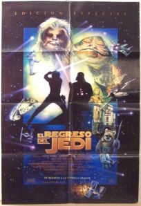 "Mexican Return of the Jedi Special Edition Version ""D"" One-Sheet"