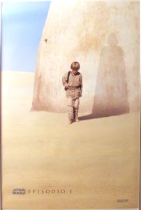"Mexican The Phantom Menace Version ""A"" Advance One-Sheet"