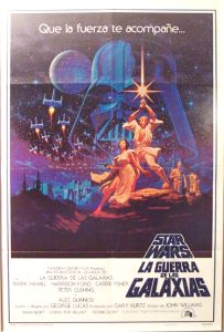 "Mexican Star Wars Style ""A"" Foreign One-Sheet"