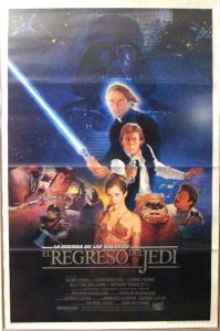 "Mexican Return of the Jedi Style ""B"" One-Sheet"